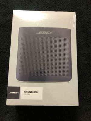 Bose SoundLink Color Bluetooth Speaker II - Limited Edition, Midnight Blue for Sale in Modesto, CA