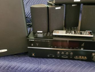 Polk Audio 5.1 Surround Stereo Yamaha Receiver for Sale in San Diego,  CA