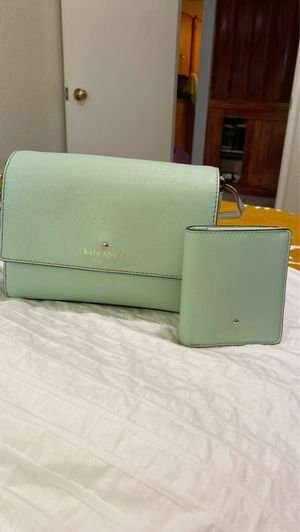 Kate Spade Purse with Matching Wallet for Sale in Fresno, CA