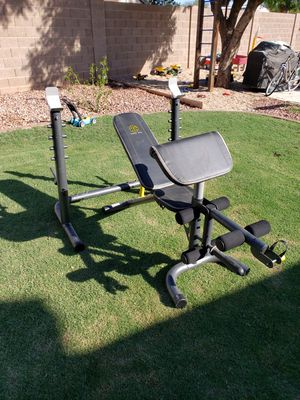 Gold's Gym Bench for Sale in Glendale, AZ