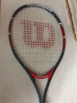 Tennis racket with extra grip on it for Sale in Naperville, IL