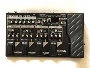 Boss ME-70 Guitar Multi Effect Processor for Sale in Houston, TX