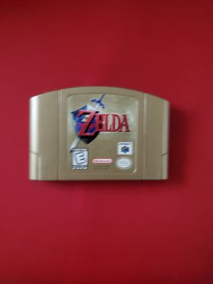 Zelda Ocarina Of Time N64 Gold Cartridge for Sale in Portland, OR