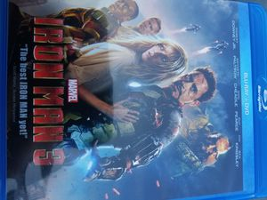 Iron man 3 blu-ray dvd for Sale in WA, US