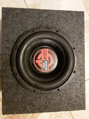 Subwoofer 10 for Sale in Prospect Heights, IL