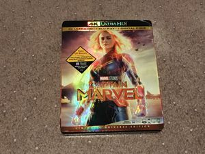 Captain Marvel 4k Bluray complete for Sale in Altadena, CA