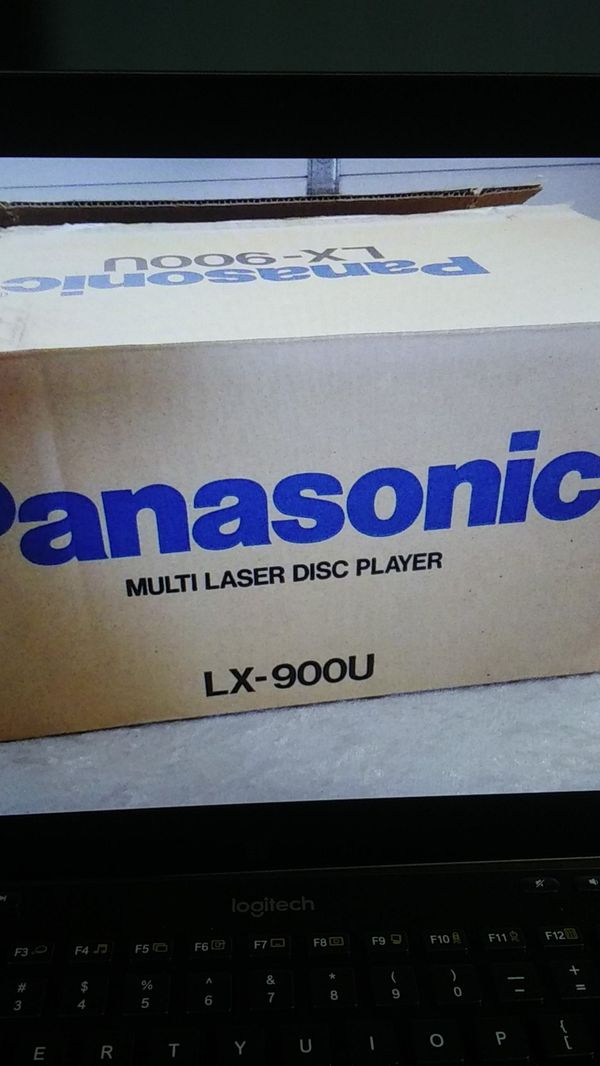 Panasonic multi laser disc player model lx900u with box and manual