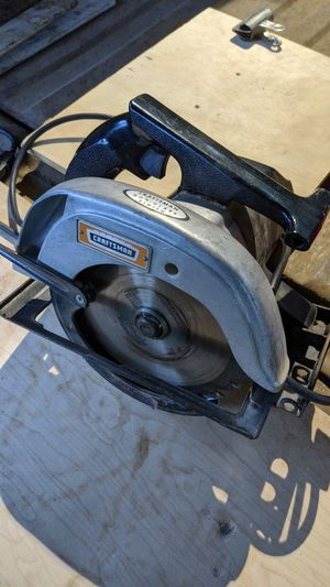 Old craftsman circular saw for Sale in Eugene, OR