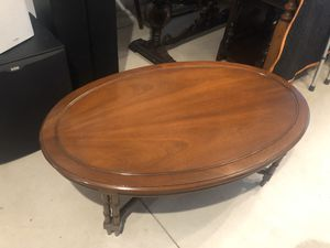 Wood coffee table for Sale in Toms River, NJ