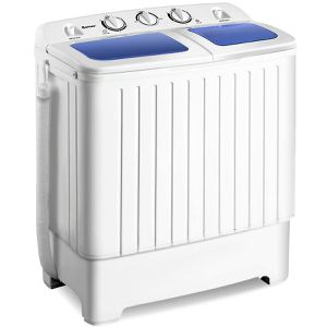Costway Portable Mini Compact Twin Tub Washing Machine Spin Dryer for Sale in Los Angeles, CA
