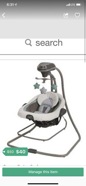 Baby swing for Sale in Austin, TX