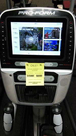 "Proform endurance 1520E elliptical w/ 10.5"" touchscreen for Sale in Glendale, AZ"
