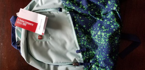 Brand New Swiss Wenger backpack