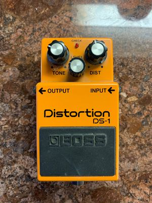Boss ds1 distortion pedal for Sale in San Jose, CA