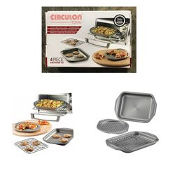 Circulon 4-piece Toaster Oven Bakeware Set for Sale in Stafford,  TX