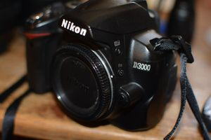 Nikon D3000 for Sale in Spring Valley, CA