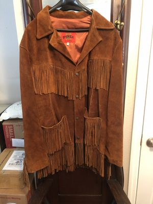 Suede Fringed jacket for Sale in Poinciana, FL