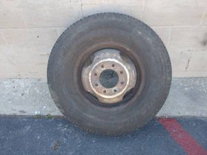 One chevy or gmc 16 inch classic dually wheel for Sale in Montebello, CA