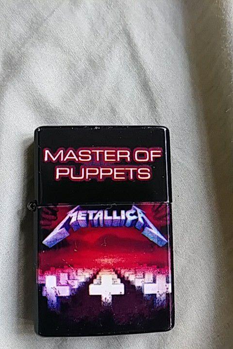 Metallica zippo lighter
