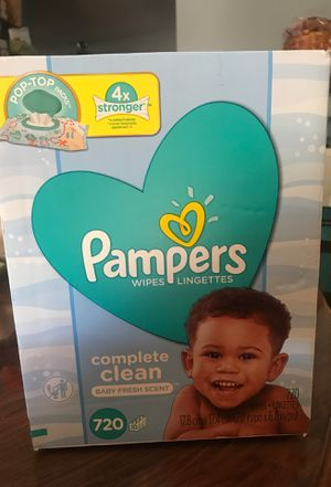 Pampers Wipes Lingettes 720 count for Sale in Paramount, CA