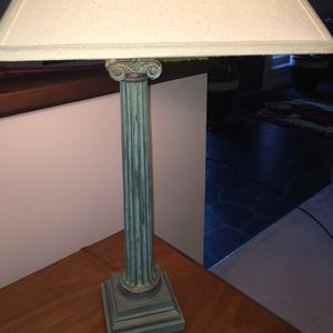 Decorative table lamp - available for pick up for Sale in Blythewood, SC