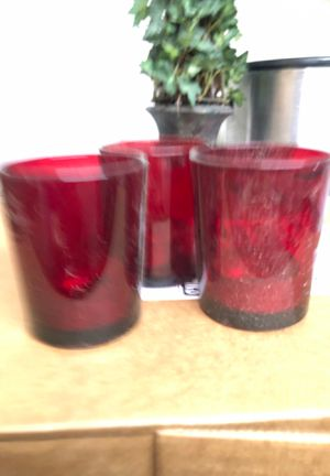 Set of 3 candle holders for Sale in Simi Valley, CA