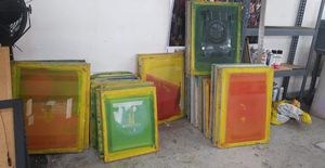 Screens for screen printing for Sale in Los Angeles, CA