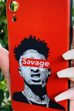 Brand new cool iphone XR case cover silicone rubber SAVAGE 21 Girls guys womens mens hypebeast hype fundas for Sale in San Bernardino,  CA
