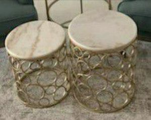 Solid Marble Top Nesting Tables for Sale in Orlando, FL