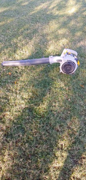 Ryobi 2 cycle LEAF blower 30 day warranty for Sale in Tulsa, OK