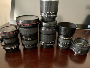 Canon L EFS Lenses for Sale in Humble, TX