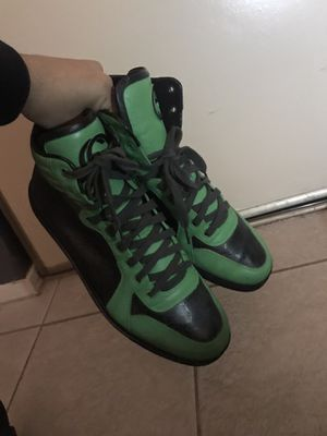 Size 10.5 Gucci GG Imprime Hightops sneakers for Sale in Houston, TX