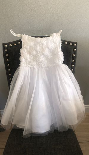 flower girl dress size 1-2 only worn once for Sale in Menifee, CA