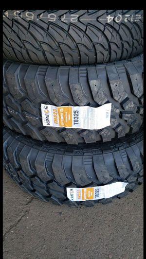 Brand New set of kpatos MUD terrain tires 37 1350 22 lt for Sale in Phoenix, AZ