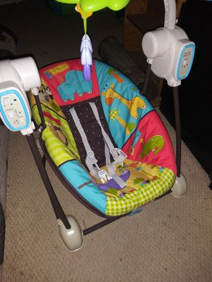 Portable baby swing for Sale in Seattle, WA