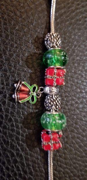 Pandora Christmas themed charm bracelet for Sale in Glendale, AZ