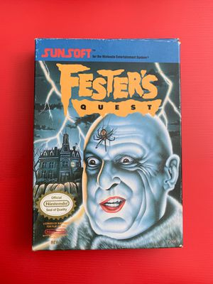 Fester's Quest Original NES game (untested) for Sale in Worthington, OH