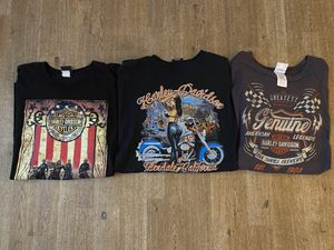 Lot of 3 Harley Davidson Motorcycle Tees XXL for Sale in Chino Hills, CA