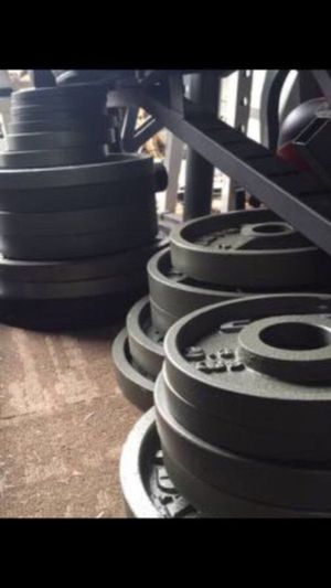 OLYMPIC WEIGHTS FOR SALE • ALL SIZES • LOW PRICES for Sale in San Diego, CA