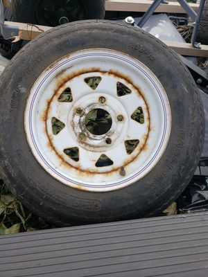 5/30/r12 two tires by trailer for Sale in Sterling, VA