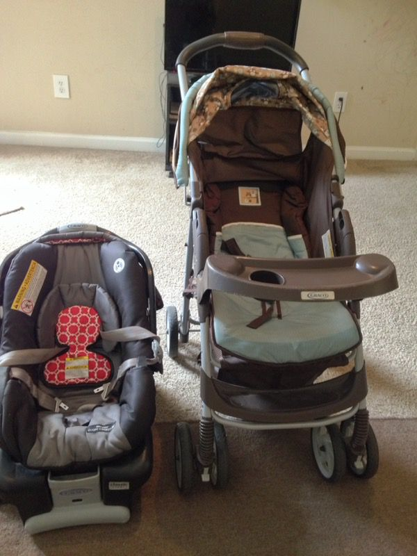 Graco Infant booster car seat and stroller
