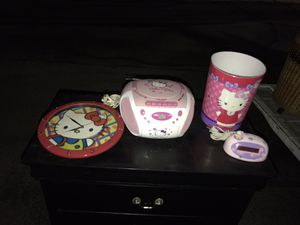 Hello Kitty Bedroom Accessories for Sale in Houston, TX