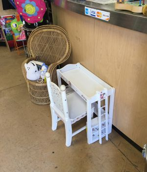 Decorative Wooden Bunk Bed with Chair for Sale in Matawan, NJ