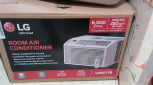 LG Air Condition 6,000 BTU with Remote Brand New Never Used Model Number L W6017R. for Sale in Nashville, TN