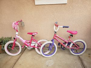 16 inch girls bikes for Sale in Moreno Valley, CA