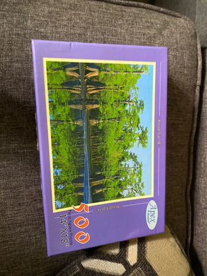 """Apex 500 pc Forest Jigsaw Puzzle 14x18"""" for Sale in Ithaca, NY"""