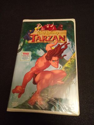 Tarzan vhs movies sealed for Sale in Chicago, IL