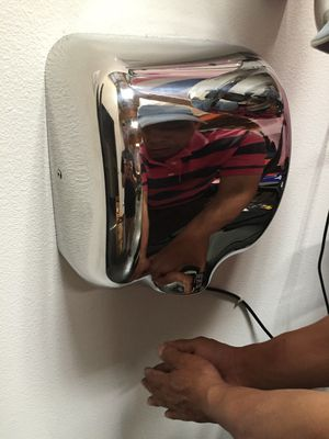 New in box commerical grade restaurant quality chrome automatic hand dryer energy efficient fast drying for Sale in Whittier, CA