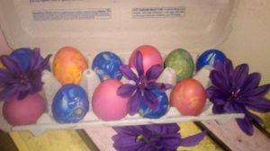 Boiled colored eggs for Sale in Manvel, TX