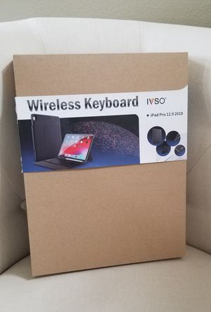 Wireless Keyboard iPad Pro 12.9 for Sale in Las Vegas, NV